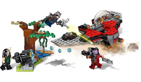 Lego Superheroes 76079 Ravager Attack M Ship Lego 76079 Heroes Guardians Of The Galaxy Vol 2