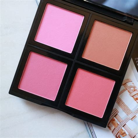 E L F Studio Blush studio blush palette swatches