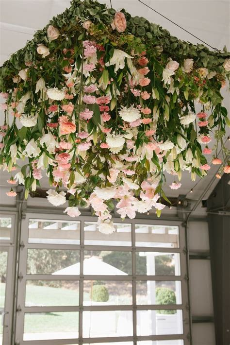 29 gorgeous wedding floral chandeliers that will your