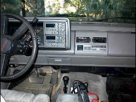 free auto repair manuals 1993 gmc 1500 instrument cluster service manual 1993 gmc safari stereo remove lower dash service manual 1998 ford f150 stereo