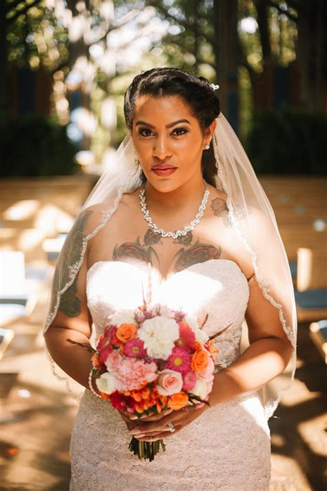 brides with tattoos 23 beautiful tattooed brides who wouldn t of