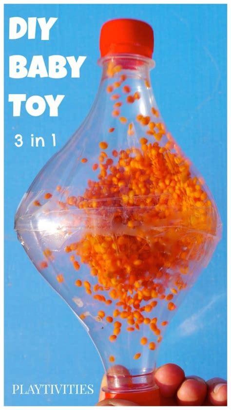How To Make Handmade Toys - 3 in 1 baby playtivities