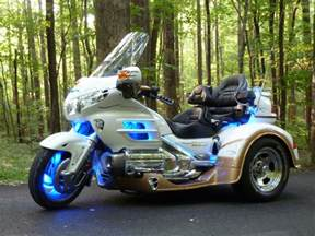 Honda Trike Motorcycles Blue Neon 187 Neoncycle St Louis Mo Motorcycle Led