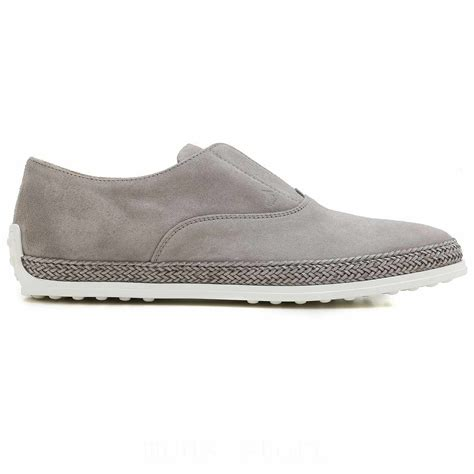 mens stores tods slip ons shoes for counter genuine