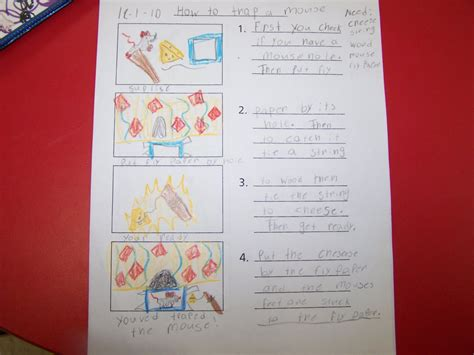 procedural writing template grade 1 ahoy and welcome mall ard mateys procedural writing how