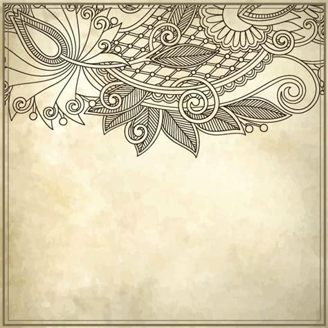 pattern border illustrator elements of vintage floral borders art vector 03 vector