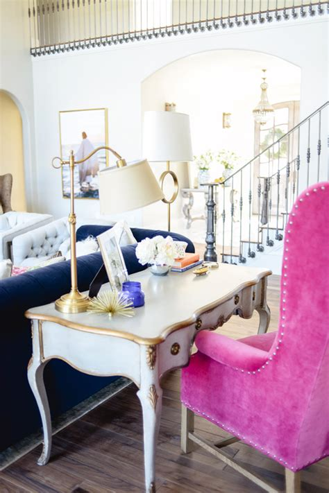 Pink Office Chair Design Ideas Living Room Makeover Ideas Tips On Redesigning Your Home Shoproomideas
