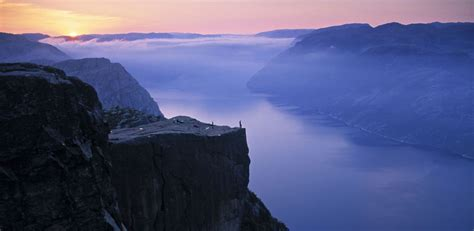 beautiful picture preikestolen norway most beautiful picture of the day