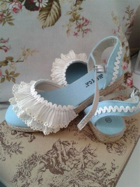 como decorar zapatillas de esparto para comunion esparte 241 as decoradas mis labores zapatillas decoradas