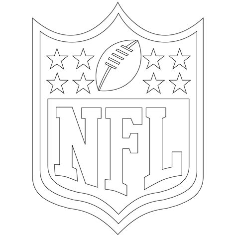 printable football coloring pages  kids