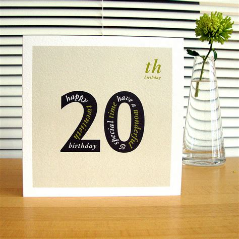 20th Birthday Cards Personalised Landmark Birthday Card By Designed