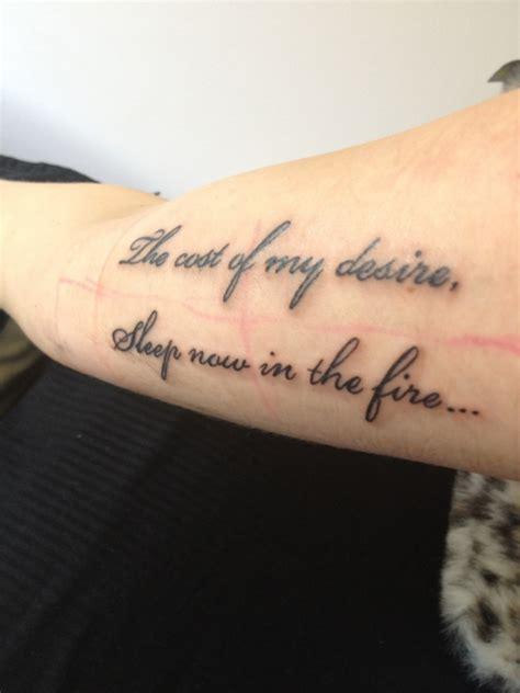 tattoo lyrics tumblr lyrics tattoo on tumblr