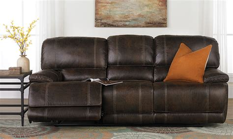 bennett leather 90 power reclining sofa what is a dual motion sofa www energywarden net