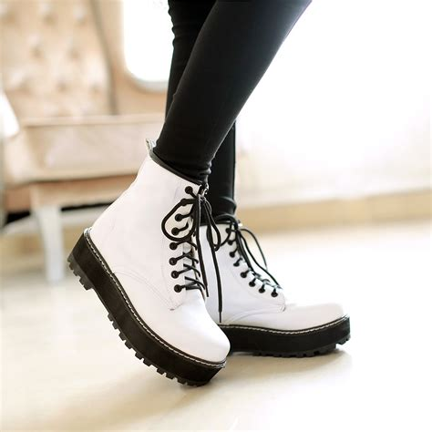 new style lace casual boots 183 kawaii harajuku