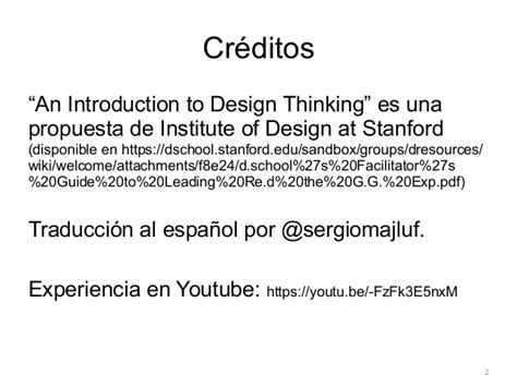 stanford design thinking youtube design thinking en una hora a stanford introduction to