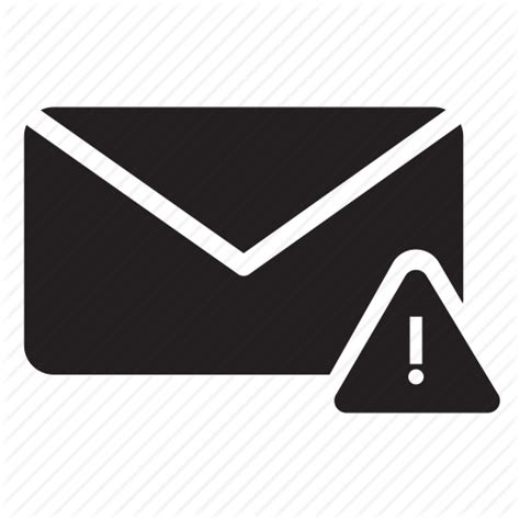 Search Email Alert Alert Attention Email Envelope Mail Security Warning Icon Icon Search Engine