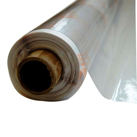 printable clear vinyl roll vinyl it 4 1 2 ft x 75 ft clear 8 mil plastic sheeting