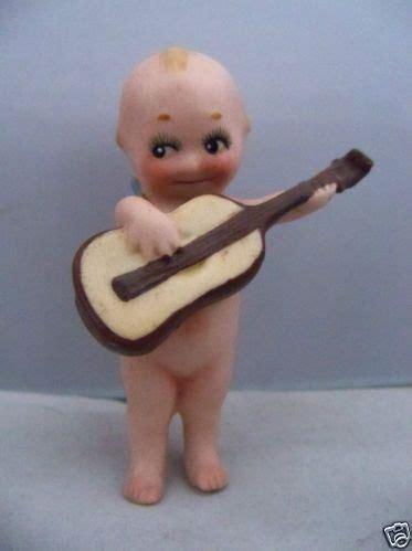 kewpie with guitar antique german o neill kewpie doll w guitar ca 1913