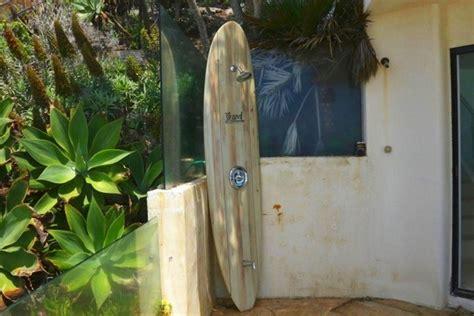 surfboard outdoor shower strand surfboard shower