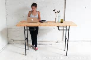 Making Wood End Tables by Homemade Modern Ep74 Standing Desk