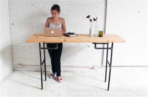 Diy Build A Desk Modern Ep74 Standing Desk