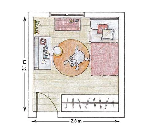 plano de habitacion dormitorios compartidos y sus planos mi casa