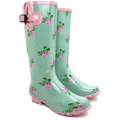 wellies boots womens flat wellies wellingtons knee high