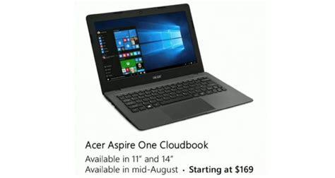 Laptop Acer Aspire One Cloudbook acer aspire one cloudbook notebook z windows 10 za 169 usd tw 243 j vortal technologiczny