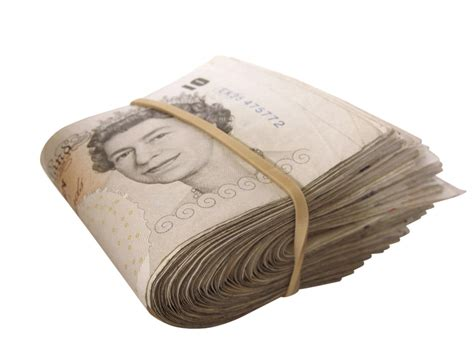 money images money an image of big money which has been isolated on a