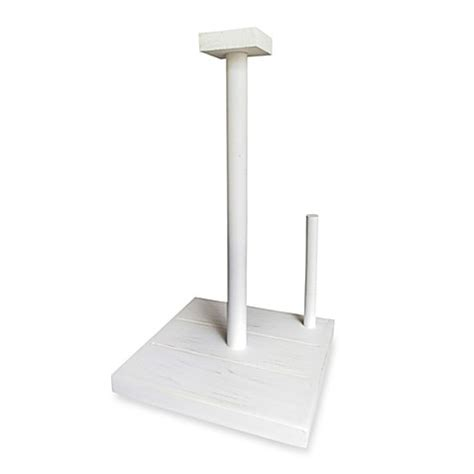 bed bath and beyond paper towel holder white wood paper towel holder bed bath beyond