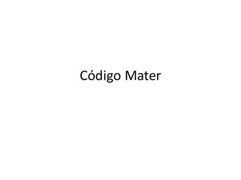 proxima slideshare c 243 digo mater