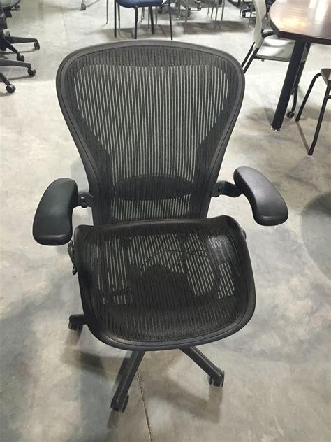 Herman Miller Refurbished Chairs by Herman Miller Aeron Used Task Chair