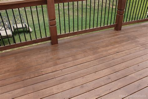 Behr Patio Stain by Stained Deck How To Nest For Less