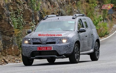 renault 7 seater suv renault grand duster 7 seater suv spotted gaadikey