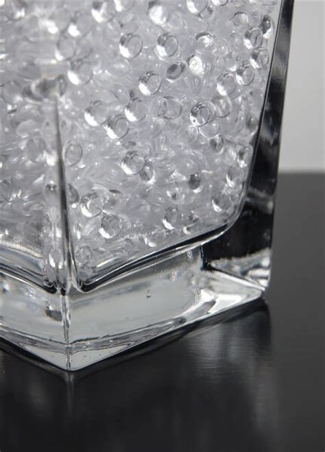 Acrylic Vase Filler by Of Raindrops 92 Ounces 5 3 4 Lbs Vase Filler
