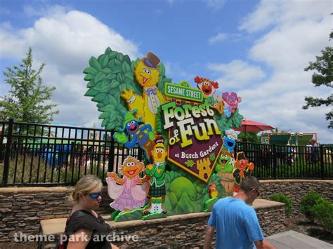 Busch Gardens Sesame by Theme Park Archive Sesame Forest Of At Busch