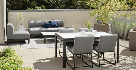 room and board outdoor expert design advice outdoor dining spaces room board