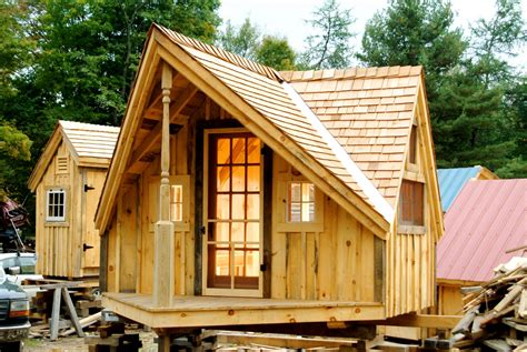 cabin design relaxshacks six free plan sets for tiny houses cabins shedworking offices