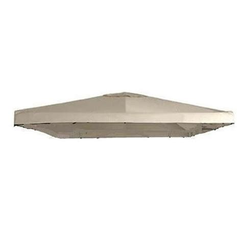 10 X 10 Universal Replacement Canopy Two Tiered by Garden Winds Universal 10 X 10 Single Tiered Replacement