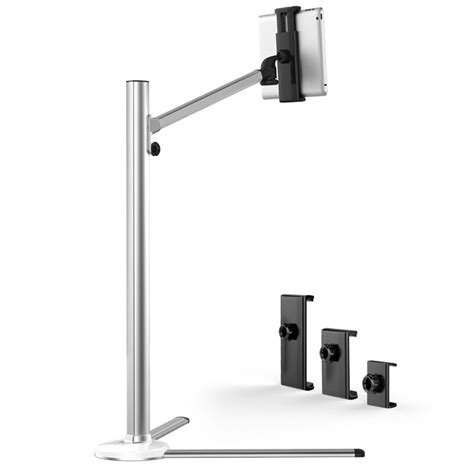 Aluminum Frame Bracket Stand For Tablet Pc up 6 universal aluminum alloy height adjustable 2 in 1