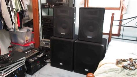 Dj Am And Trachtenberg Hook Up 2 by Dj Setup Seismic Audio Speakers With 18 Quot Sa Subs