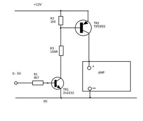 transistor npn pnp switch pnp switching voltages electrical engineering stack exchange