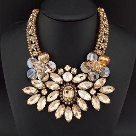 Grace Neck Lace Flowers Dress Item Noyzd021302fc 1 Aliexpress Buy 2015 Fashion Jewelry Formal