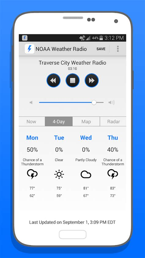 noaa app for android noaa weather radio android apps on play