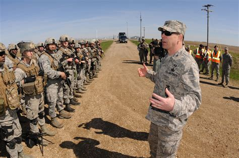 by order of the commander air force air force housing file u s air force col kevin cullen right foreground