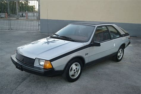 Nicest One Left 1984 Renault Fuego