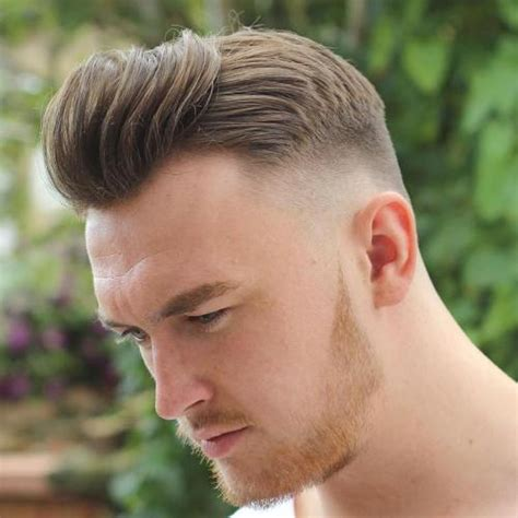 pompadour haircuts  hairstyles  men