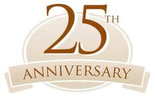 25th anniversary invitation templates clipart best