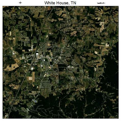 white house tennessee aerial photography map of white house tn tennessee