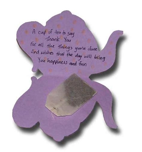 tea bag s day card template paper crafts for children 187 mothers day tea bag card